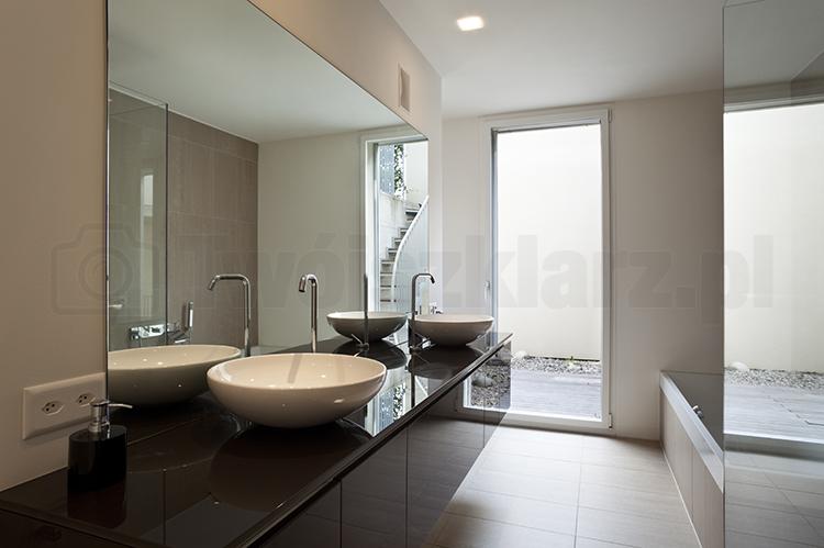 Lustro łazienkowe cena m2